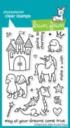 CRITTERS EVER AFTER Clear Stamp Set from Lawn Fawn