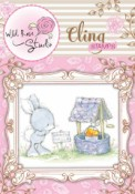 WISHING WELL Cling Rubber Stamp Blackberry Lane Collection from Wild Rose Studio