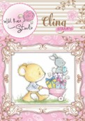 **REORDER** BARROW OF PRESENTS Cling Rubber Stamp Blackberry Lane Collection from Wild Rose Studio