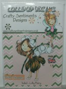 ISOBEL LILLY FAIRY Rubber Stamp Set Lollipop Dreams Collection from Crafty Sentiments Designs