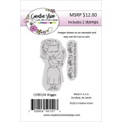 WIGGLE Rubber Stamp Set from Creative Vision