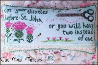 CUT YOUR THISTLES Cross Stitch Pattern by Lindy Stitches