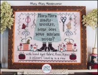 MARY, MARY NEEDLEWORKER Cross Stitch Pattern by Lindy Stitches