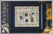 HARVEST KEEPER Cross Stitch Pattern by Plum Street Samplers