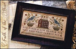 FAITH OF THE HEART Cross Stitch Pattern by With Thy Needle & Thread