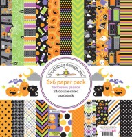 HALLOWEEN PARADE 6x6 Paper Pack from Doodlebug Designs