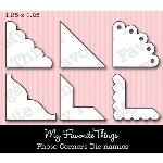 DIE-NAMICS PHOTO CORNERS DIE from My Favorite Things MFT Stamps