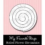 DIE-NAMICS ROLLED FLOWER DIE from My Favorite Things MFT Stamps