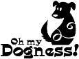 OH MY DOGNESS! Cling Mount Stamp from Magenta