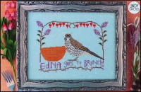 EDNA GOES TO BRUNCH Cross Stitch Pattern by Lindy Stitches