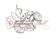 TWINKLE TOES GUM NUT FAIRY Elisabeth Bell Designs from Sweet Pea Stamps