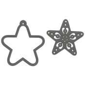 New! FILIGREE STAR Craftables Die from Marianne Design