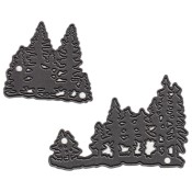 New! TINY'S PINE TREES Craftables Die from Marianne Design