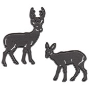 New! TINY'S DEER Craftables Die from Marianne Design