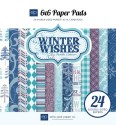WINTER WISHES 6x6 Paper Pack from Echo Park Paper Co.