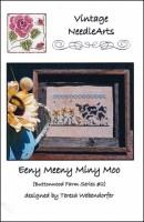 EENY MEENY MINY MOO Cross Stitch Pattern by Vintage NeedleArts