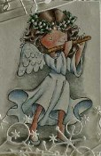 ANGEL Rubber Stamp Set It's The Season Christmas Collection from Crafty Sentiments Designs