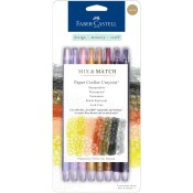 MIX & MATCH PAPER CRAFTER CRAYONS NEUTRAL SET from Faber-Castell