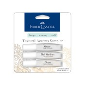 MIX & MATCH TEXTURAL ACCENTS SAMPLER PACK from Faber-Castell