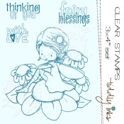 FAIRY BLESSINGS Clear Stamp Set from Tiddly Inks