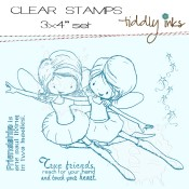 FAIRY FRIENDS Clear Stamp Set from Tiddly Inks
