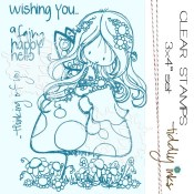 FAIRY HAPPY DAY Clear Stamp Set from Tiddly Inks