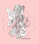 FAIRY PLAY Clear Stamp Elisabeth Bell Designs from Belles 'n Whistles
