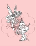 FAIRY WISHES Clear Stamp Elisabeth Bell Designs from Belles 'n Whistles