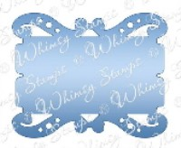 FANCY TICKET DIE Whimsy Stamps Shapeology Dies