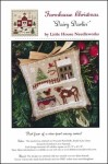 Farmhouse Christmas Series - DAIRY DARLIN' Cross Stitch Pattern by Little House Needleworks