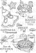 FRESH BAKED Clear Stamp Set from Flourishes