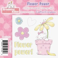 FLOWER POWER Strawberry Kisses Collection from Crafter's Companion