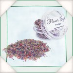 Flower Soft Sprinkles - FUCHSIA - Soft Mixed Colors Collection