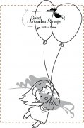 DAPHNE'S BALLOON Sweet November Fairwee from C.C. Designs