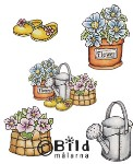 GARDEN SET Rubber Stamps from Bildmalarna