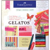 CARD MAKING WITH GELATOS KIT from Faber-Castell