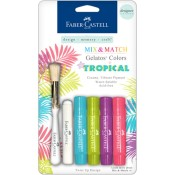 MIX & MATCH GELATOS DESIGNER SERIES TROPICAL COLOR KIT from Faber-Castell