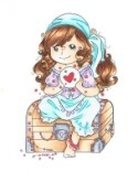 GIPSY HEART Rubber Stamp from Crafty Sentiments Designs