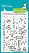 GNOME SWEET GNOME Clear Stamp Set from Lawn Fawn