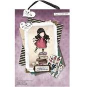 GORJUSS NEW HEIGHTS A4 DECOUPAGE PACK Gorjuss Girls Collection from Docrafts