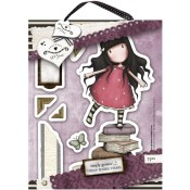 NEW HEIGHTS Cling Rubber Stamp Set Gorjuss Urban Stamps from Docrafts