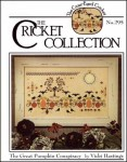 THE GREAT PUMPKIN CONSPIRACY The Cricket Collection Cross Stitch Pattern by The Cross Eyed Cricket