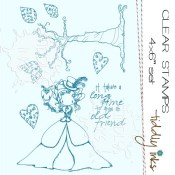 GROW OLD FRIENDS Clear Stamp Set from Tiddly Inks