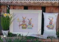 SPRING FRIENDS Cross Stitch Pattern by Madame Chantilly