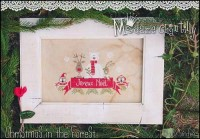 CHRISTMAS IN THE FOREST Cross Stitch Pattern by Madame Chantilly