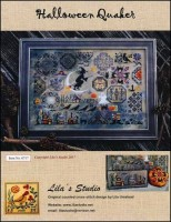 HALLOWEEN QUAKER Counted Cross Stitch Pattern from Lila's Studio