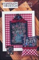Chalk Full Series - LIBERTY CHALK FULL Cross Stitch Pattern from Hands On Design