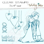 HAPPILY EVER AFTER Clear Stamp Set from Tiddly Inks