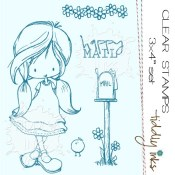 HAPPY MAIL Clear Stamp Set from Tiddly Inks