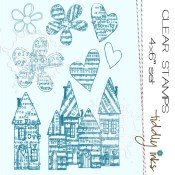 **REORDER** HARMONY AT HOME Clear Stamp Set from Tiddly Inks